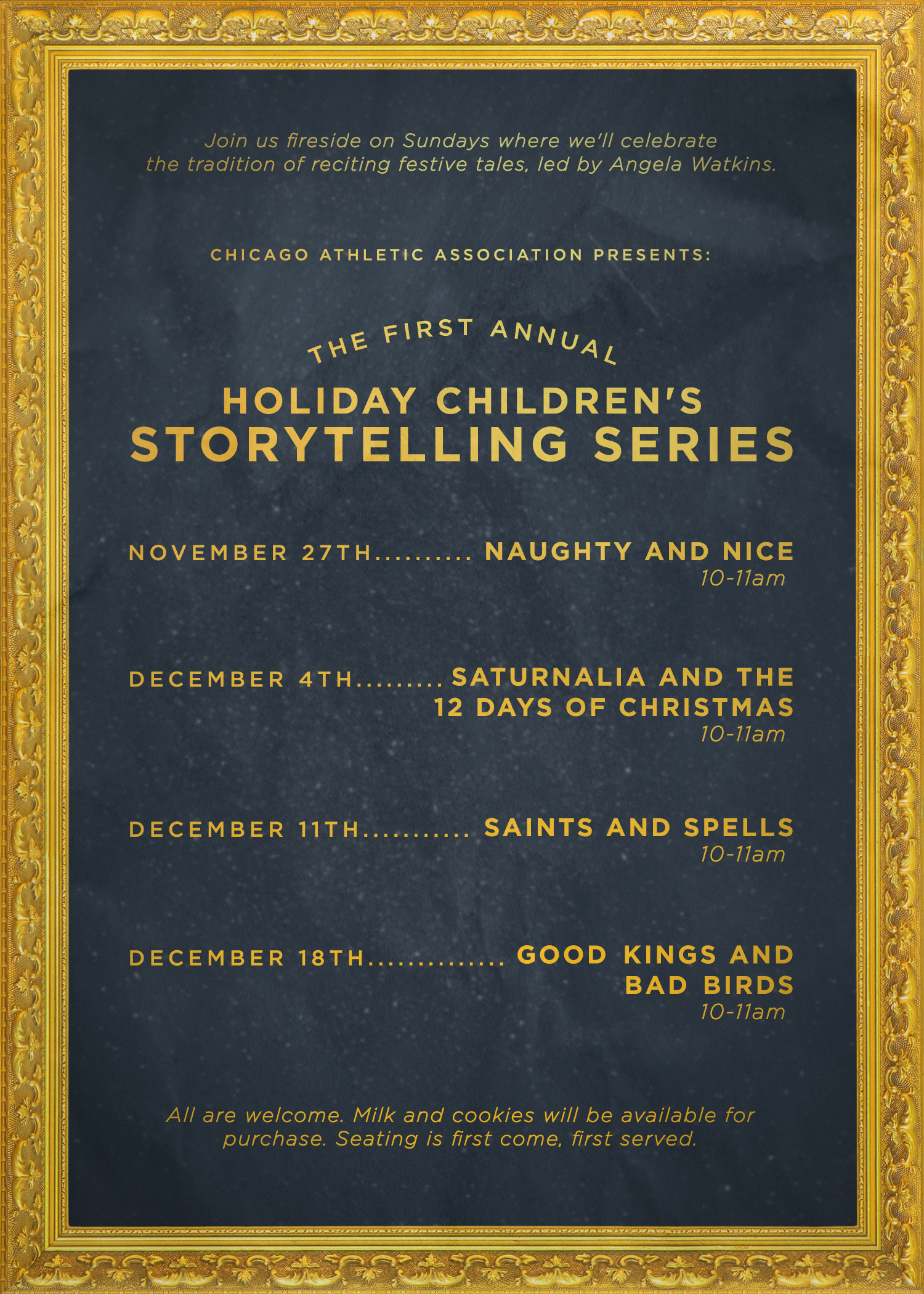 Children's Holiday Storytelling: Saints and Spells | Chicago